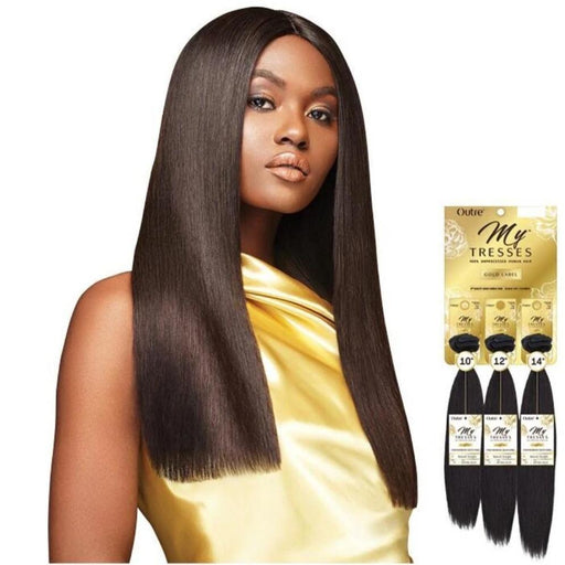 MYTRESSES GOLD LABEL NATURAL STRAIGHT - Beauty Krew