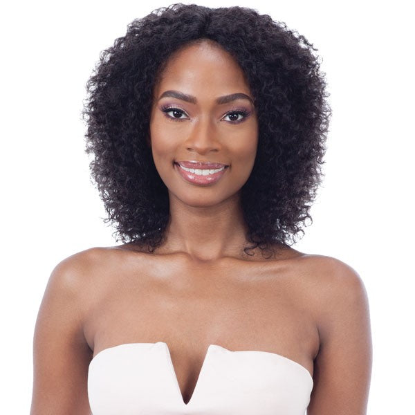 MAYDE BEAUTY HUMAN HAIR WET & WAVY INVISIBLE LACE PART WIG - BOHEMIAN CURL - Beauty Krew
