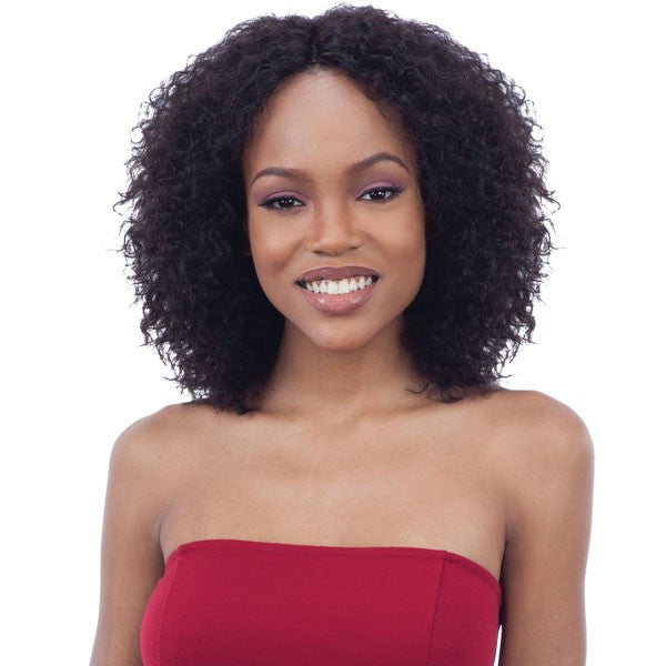 MAYDE BEAUTY HUMAN HAIR WET & WAVY INVISIBLE LACE PART WIG - DEEP CURL - Beauty Krew