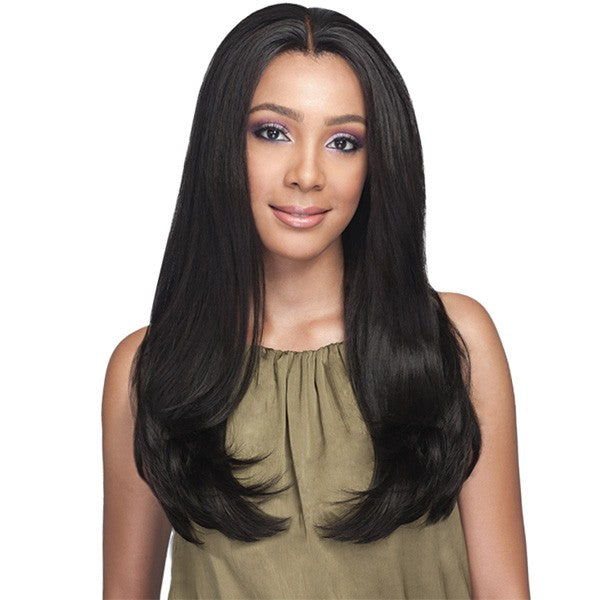 BOBBI BOSS HUMAN HAIR BLEND SWISS LACE FRONT WIG - MBLF170 MUSHIYA - Beauty Krew