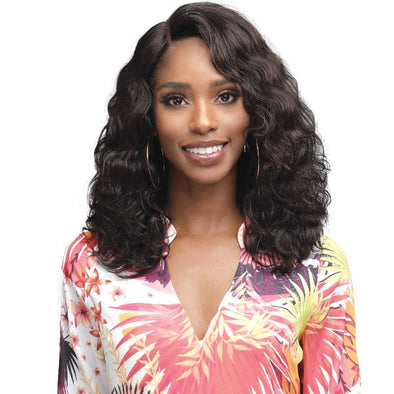 "BOBBI BOSS HUMAN HAIR 4.5"" DEEP PART LACE FRONT WIG - MHLF905 AMERIE - Beauty Krew"