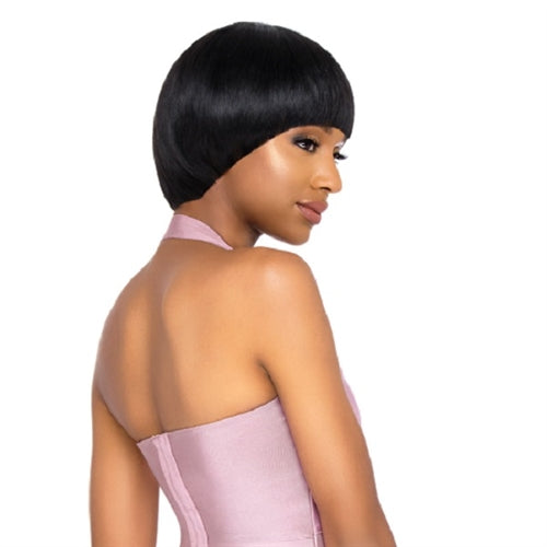 Outre Duby 100% Human hair Full Wig - Oval Fringe - Beauty Krew