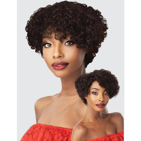 Outre Fab&Fly™ 100% Unprocessed Human Hair Wig HH-ALMA - Beauty Krew