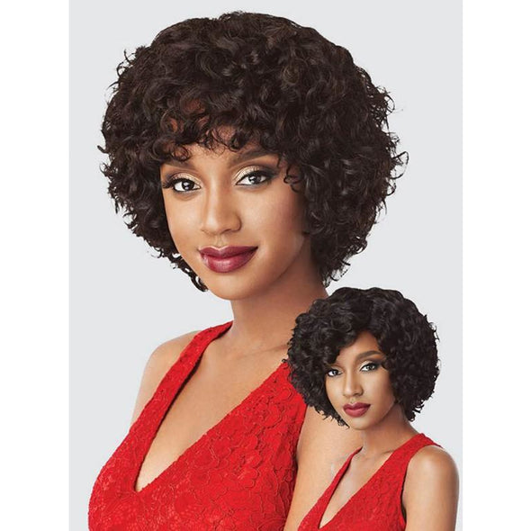 Outre Fab&Fly™ 100% Unprocessed Human Hair Wig HH-LORENE - Beauty Krew