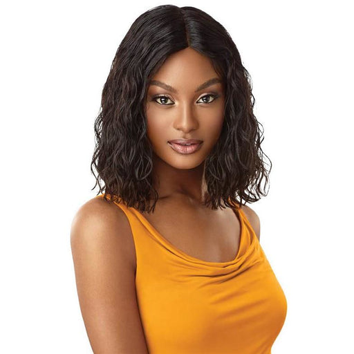 "Outre The Daily Wig™ 100% Unprocessed Human Hair Wig Curly Blunt Bob 14"" - Beauty Krew"