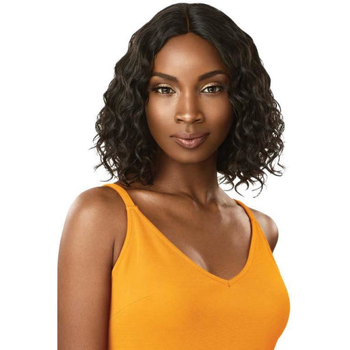 "Outre The Daily Wig™ 100% Unprocessed Human Hair Wig Curly Bob 12"" - Beauty Krew"