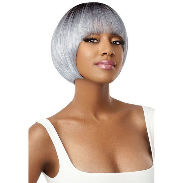 Outre Quick Weave Complete Cap Synthetic Full Wig - Eliza - Beauty Krew