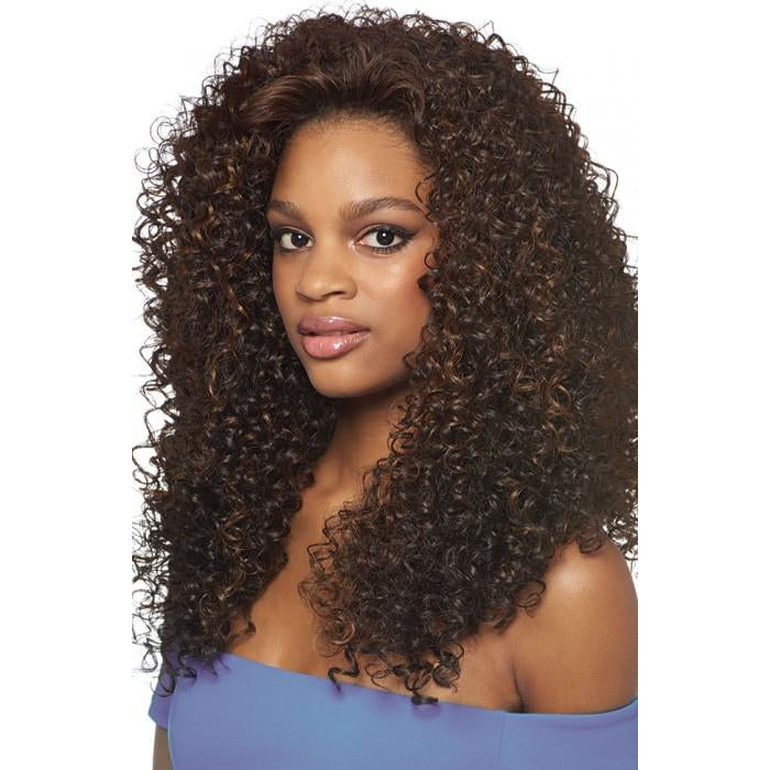 OUTRE SYNTHETIC HAIR HALF WIG QUICK WEAVE BATIK DOMINICAN CURLY - Beauty Krew