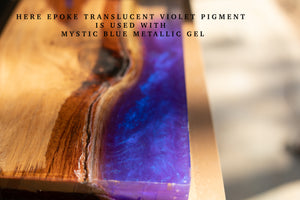 Mystic Blue ( Ghost Pigment)  - EPOKE Art Metallic Gel - 75g