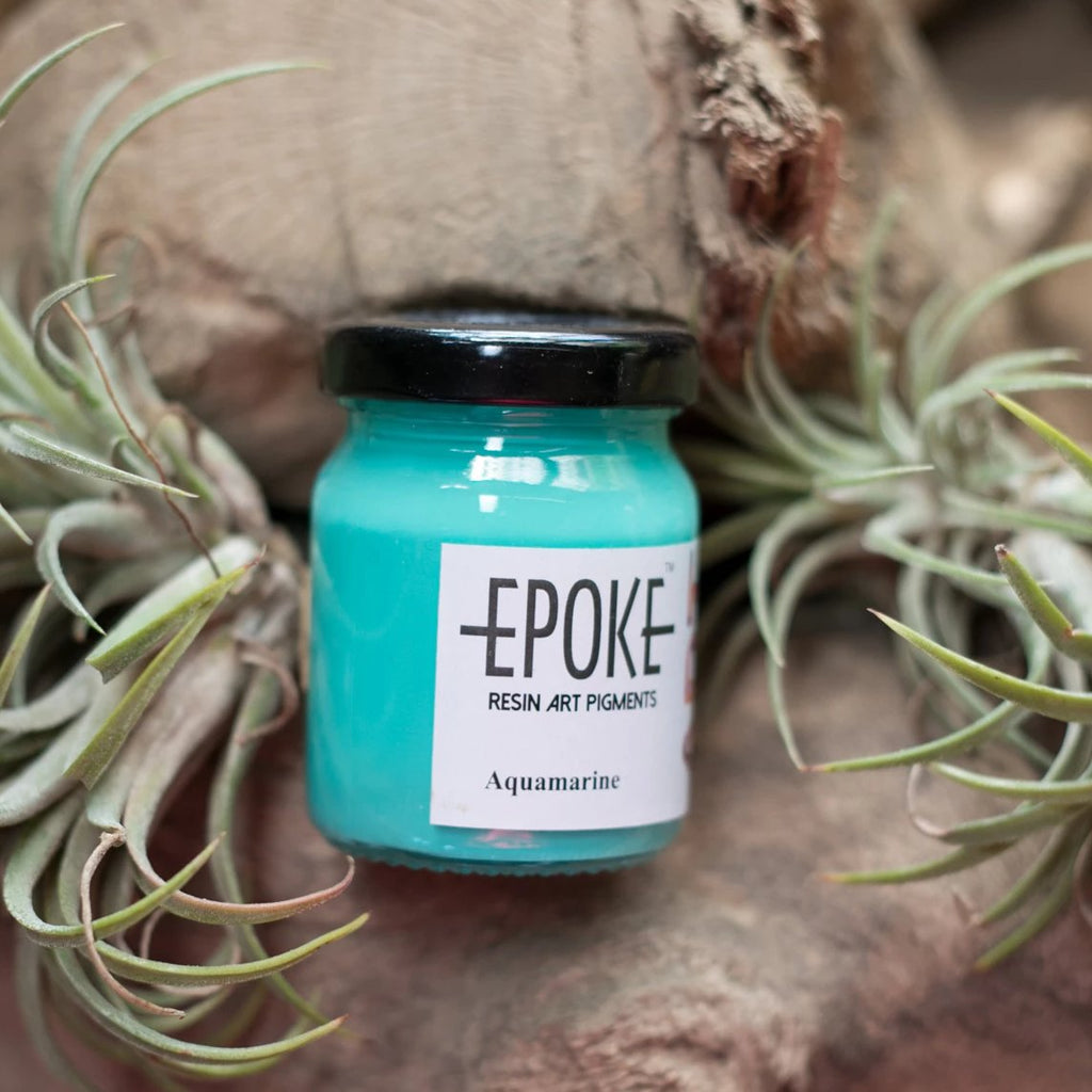 Aquamarine (Opaque) - EPOKE Art Pigment Paste