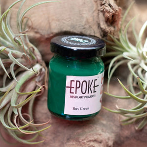 Bus Green (Opaque) - EPOKE Art Resin Pigment Paste
