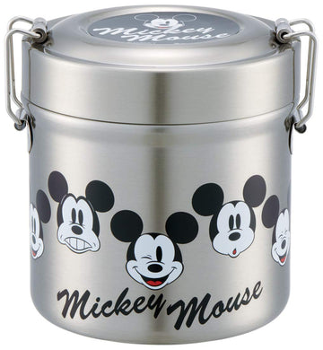 SKATER x DISNEY - Vacuum Insulated Stainless Steel - Food Jar - Mickey Mouse Faces