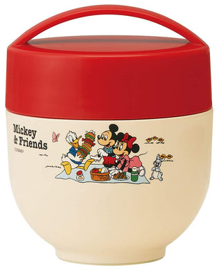 SKATER - Vacuum Insulated - Food Jar - Mickey & Friends Picnic (540ml)