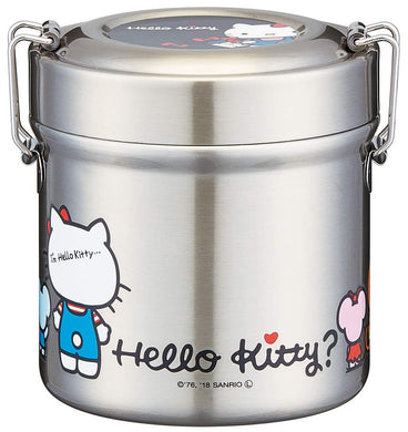 SKATER - Vacuum Insulated Stainless Steel - Food Jar - Hello Kitty (480ml)