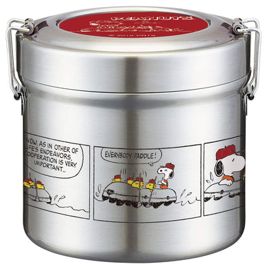 SKATER - Vacuum Insulated Stainless Steel - Food Jar - Snoopy Beagle Scouts