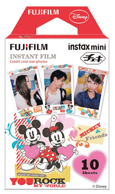 FUJIFILM x DISNEY - Instax Mini Film - Mickey & Minnie