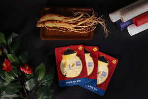 PAPA RECIPE - Bombee Ginseng Red Honey Oil Mask (1 Sheet)