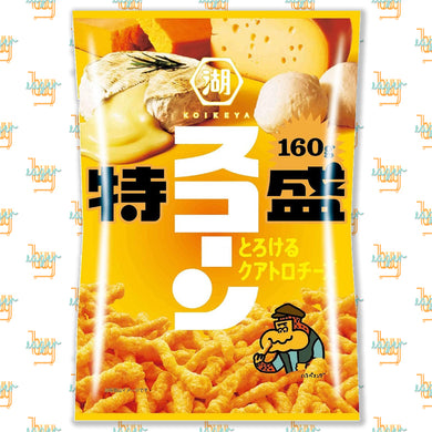 KOIKEYA - SUCORN Corn Snack - Melty Quattro Cheese (160g) x 2 Bags