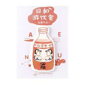CARD LOVER - Sticky Note - Japanese Drink