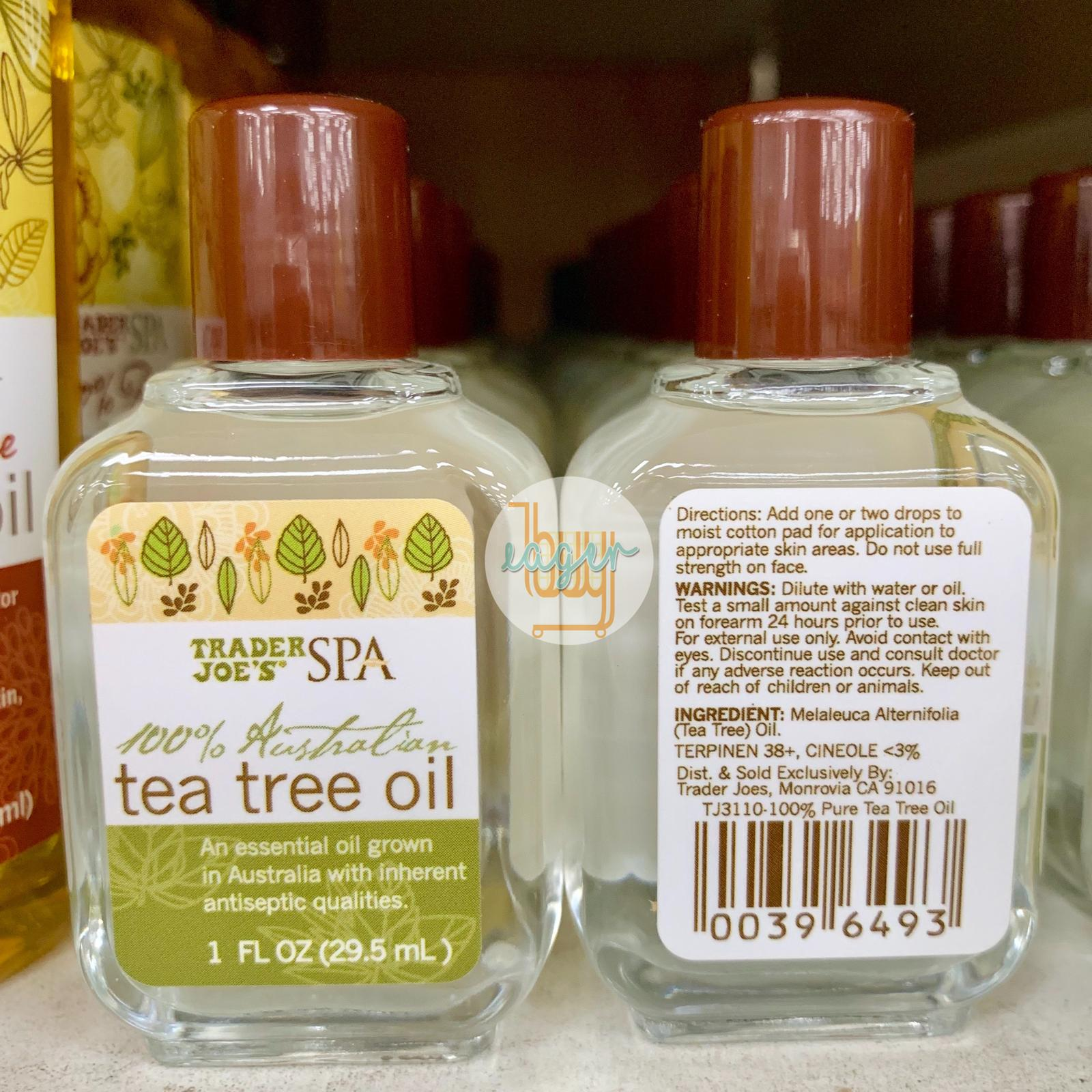 TRADER JOE'S - Spa 100% Australian Tea Tree Oil
