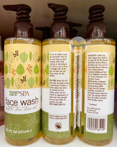 TRADER JOE'S - Spa Face Wash with Tea Tree Oil