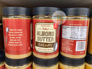 TRADER JOE'S - Raw Almond Butter - Creamy
