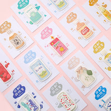 Load image into Gallery viewer, CARD LOVER - Sticky Note - Japanese Drink
