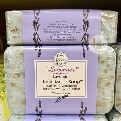 TRADER JOE'S (BISOUS DE PROVENCE) - Triple Milled Soap - Lavender with Flowers (Lavande)