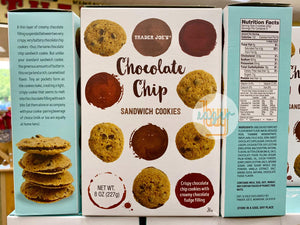 TRADER JOE'S - Chocolate Chip Sandwich Cookies