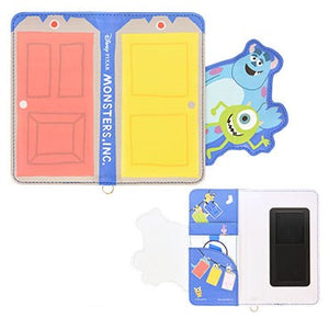 GOURMANDISE x DISNEY PIXAR - Phone Case - Die-Cut Multi Flip Cover - Monster Inc (M+ size)