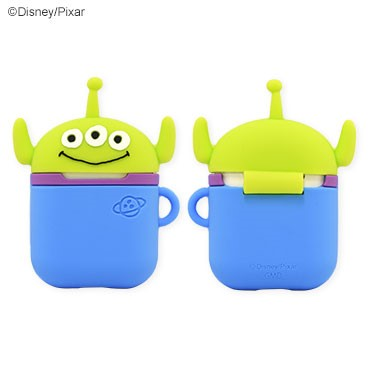 GOURMANDISE x DISNEY PIXAR - AirPods Protector Case - Alien (AirPods 1/2)
