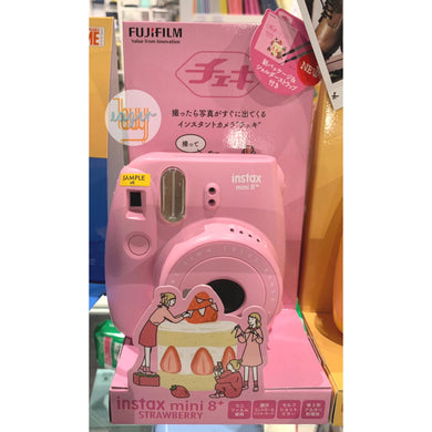FUJIFILM - Food Series - instax mini 8+ - Strawberry (Japan Version)