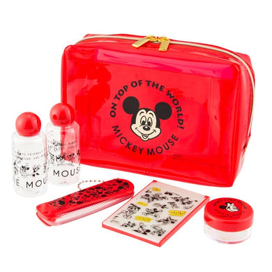 DISNEY - Travel Set (Refillable Container Set) - Mickey