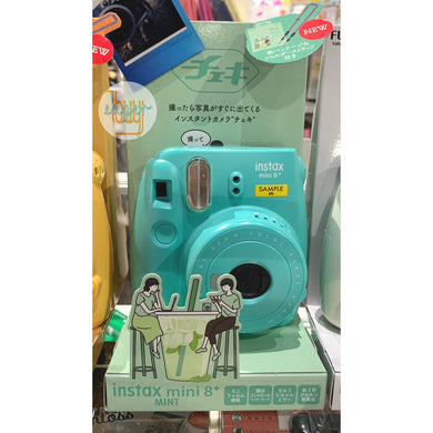 FUJIFILM - Food Series - instax mini 8+ - Mint (Japan Version)