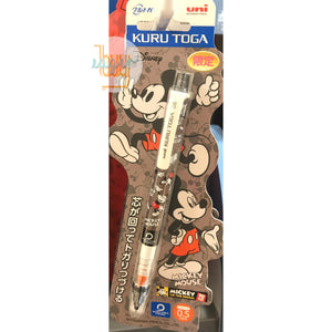 uni KURU TOGA - Mechanical Pencil - 0.5mm - Disney x Pixar Series - Limited Edition