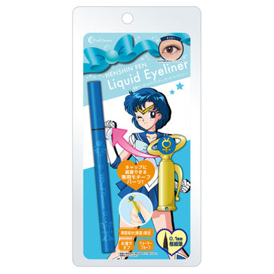 Creer Beaute MIRACLE ROMANCE - Disguise & Makeover Pen Liquid Eyeliner - Sailor Mercury (Navy)