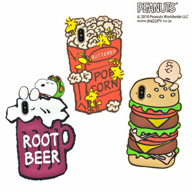 GOURMANDISE x PEANUTS - iPhone Case - Snoopy & Friends (iPhone Xs/X)