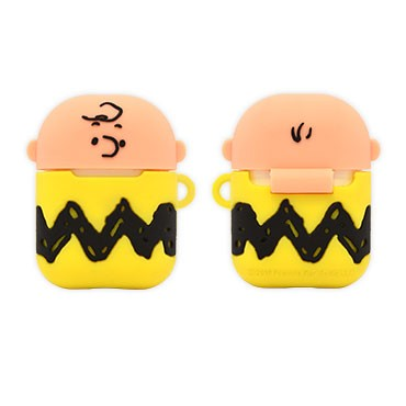 GOURMANDISE x PEANUTS - AirPods Protector Case - Charlie Brown (AirPods 1/2)