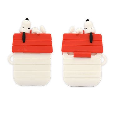 GOURMANDISE x PEANUTS - AirPods Protector Case - Snoopy Dog House (AirPods 1/2)