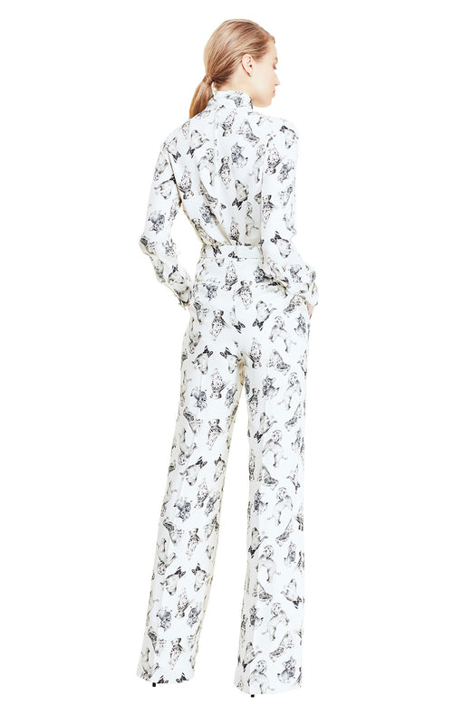 Man's Best Friend Print Maggie Pant