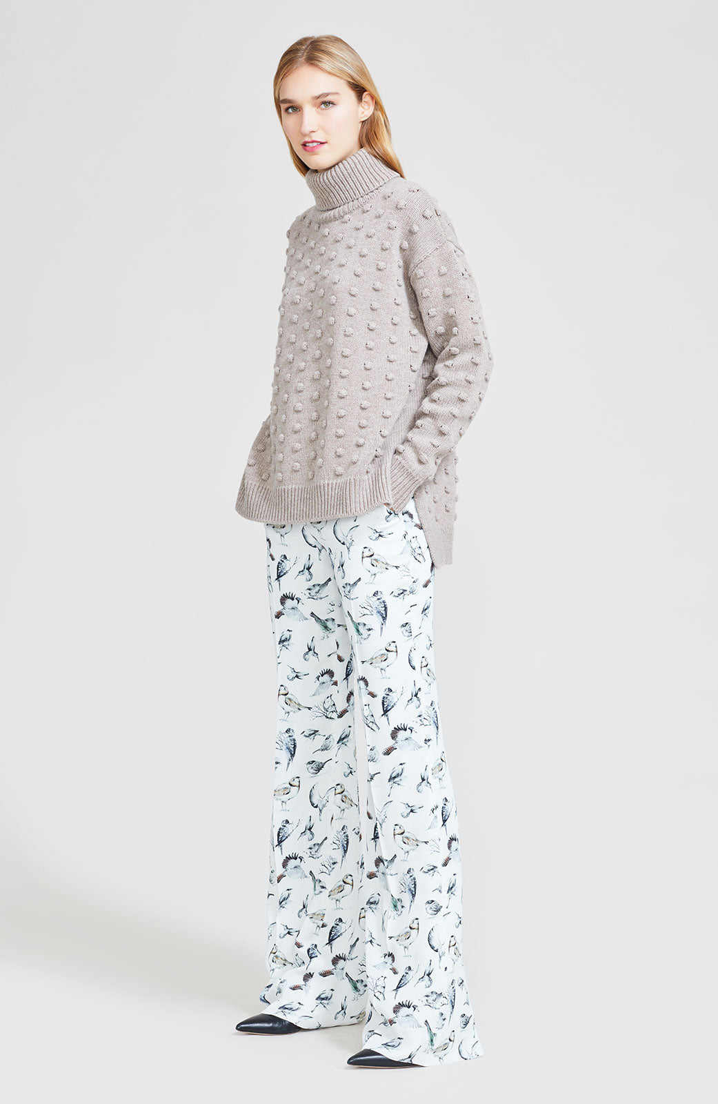 Birds of a Feather Georgette Maggie Pant