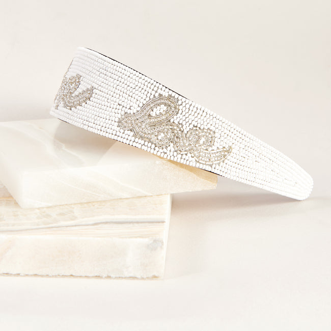Lela Rose x Mignonne Gavigan <br>Love Headband