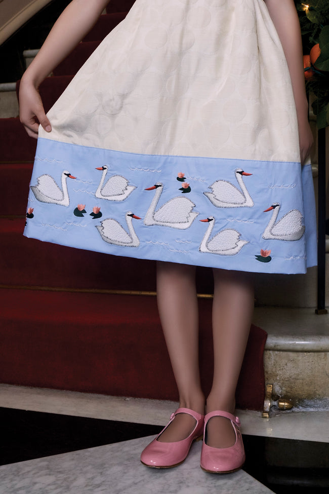Seven Swans A-Swimming Dress