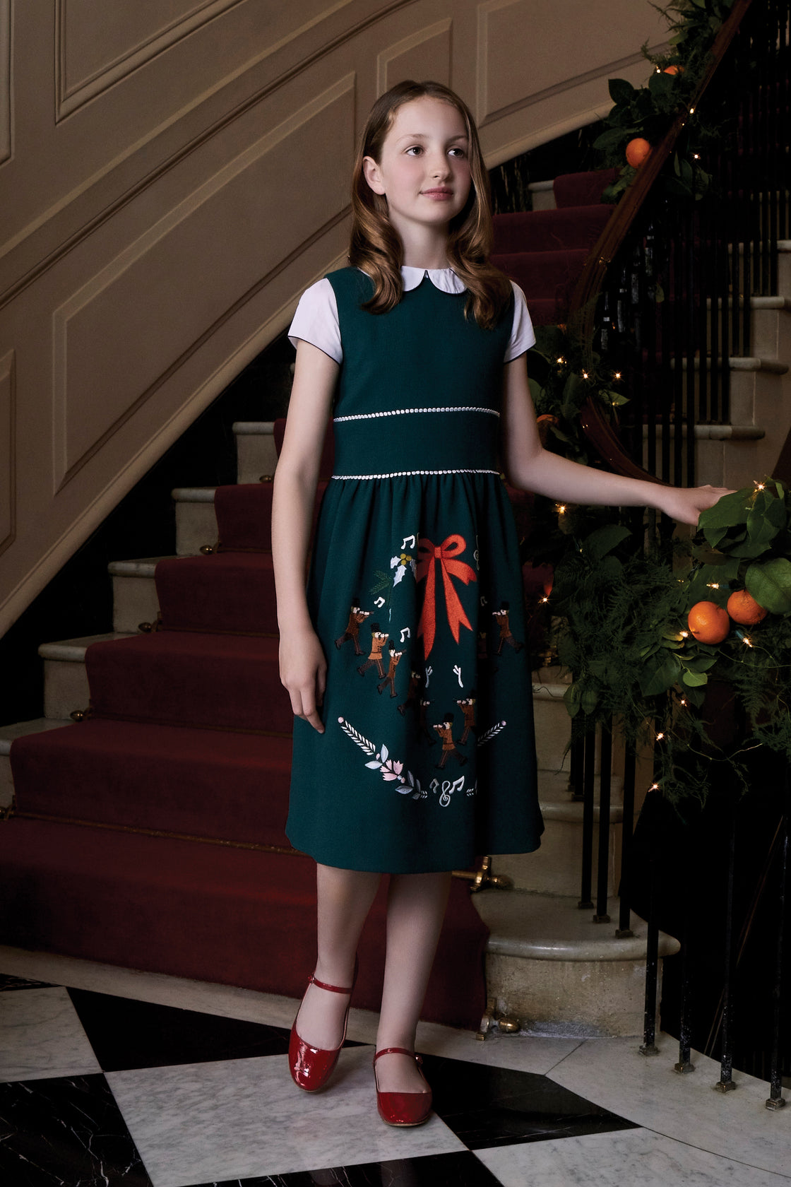 Eleven Pipers Piping Dress