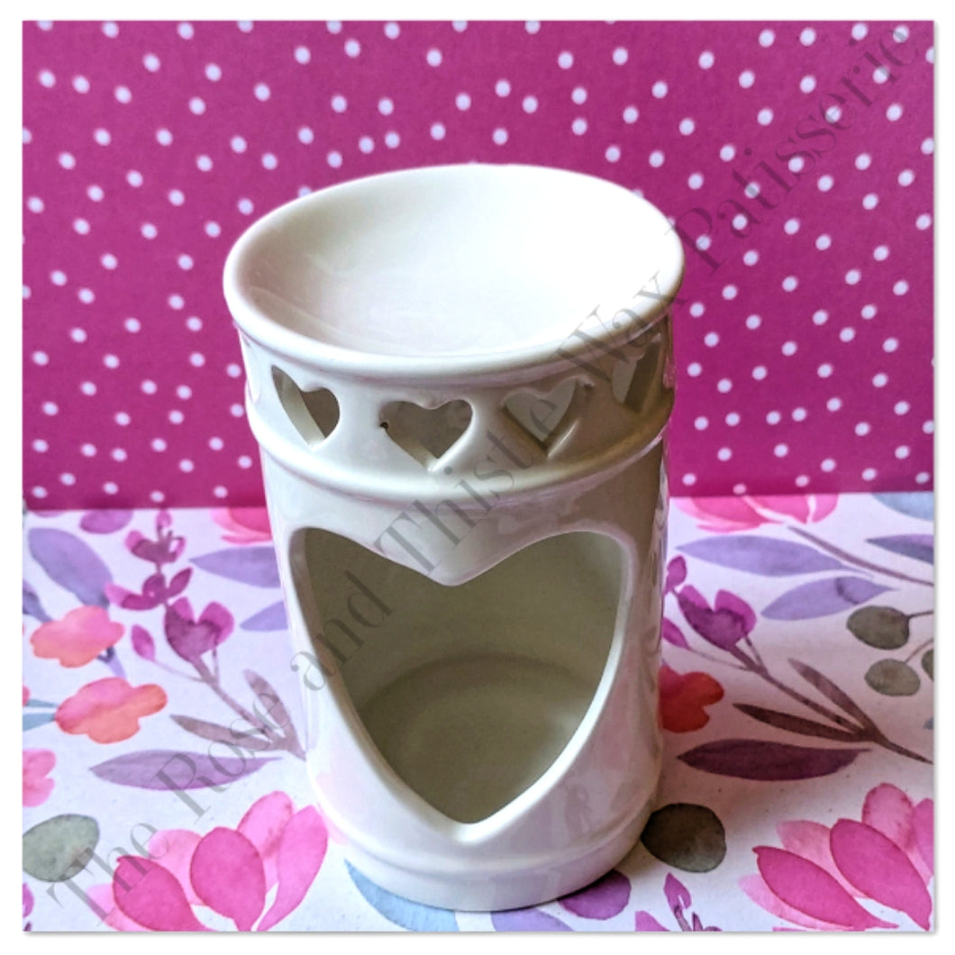 Cut Out Heart Wax Melt Burner