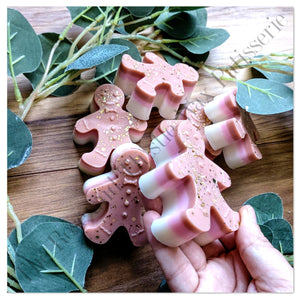 Gingerbread Scented Soy Wax Melt Gingerbread Man Shape