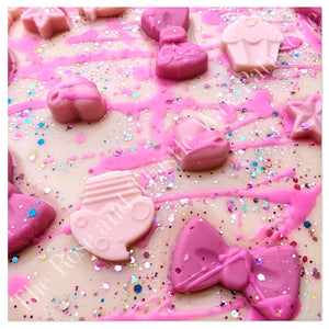 Pink Sugar Birthday Cake Soy Wax Melt Brittle