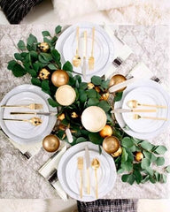 Premium options for decorating the Christmas table