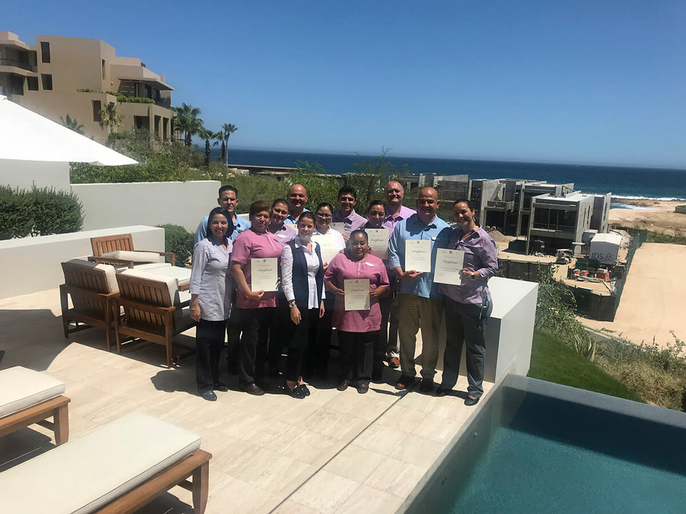 International Butler and Executive House Keeping Program Maravilla, Los Cabos Junio 2018