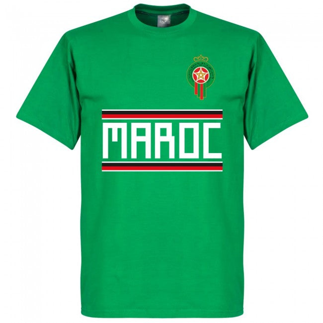 Morocco Ziyach 10 Team T-Shirt - Green